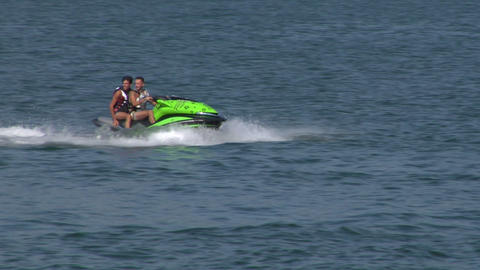 jet ski 03 e Stock Video Footage