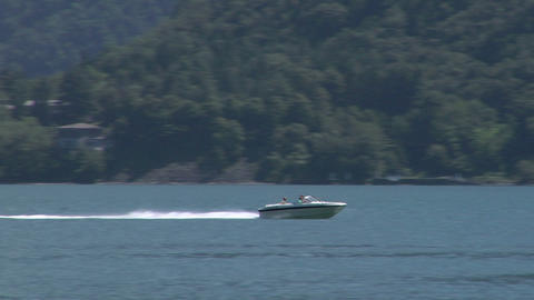 motorboat 28 Stock Video Footage