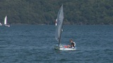 small boat sailing school 01 Footage