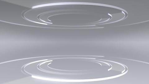 Circle Stage Aa 2b HD Stock Video Footage