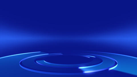 Circle Stage Af 4b HD Stock Video Footage