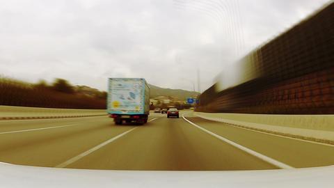 Car trip 03 Stock Video Footage