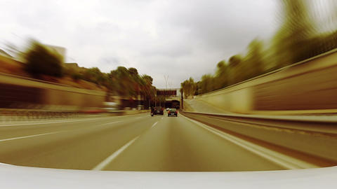 Car trip 03 Stock Video Footage