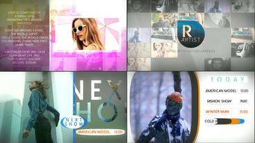 Lux Graphics Pack After Effects Project