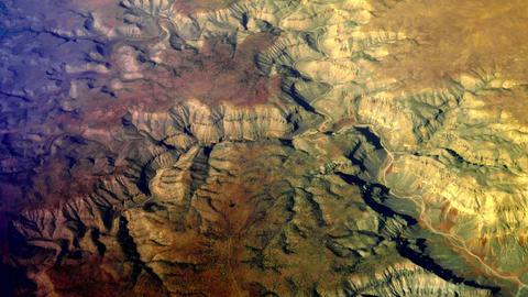 Desert canyon aerial, Glen Canyon 4K Footage