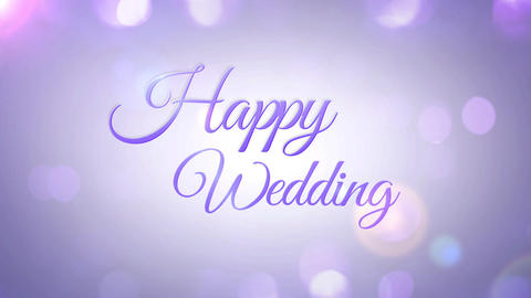 Wedding title 3 Animation
