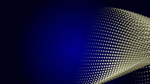 Goldmetal sphere wave type1 CG動画