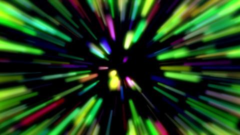 Rainbow Reverce Particles Shiny Rays Of Light Loop Explosion Background Animation