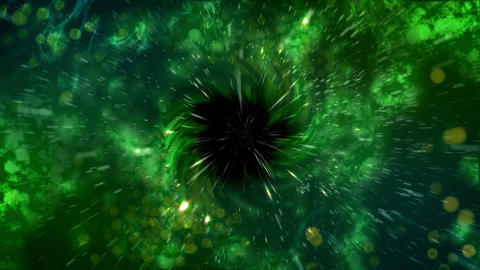 Abstract Universe black hole explosion space Animation