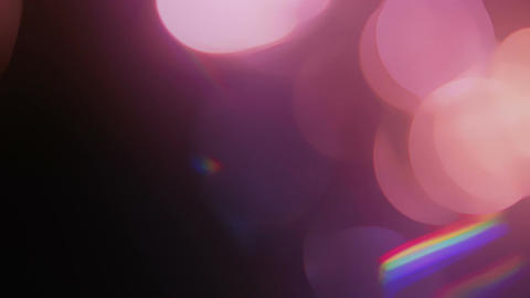 Light Leaks and Bokeh 24 Animation