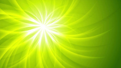 Green shiny beams pattern video animation Animation