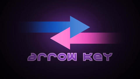 Arrow Key - Animated Arrows and Particles Logo Stinger After Effects Template