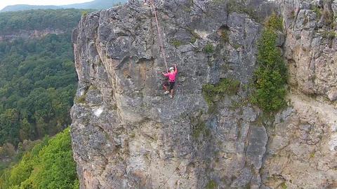 Rock climbing ビデオ