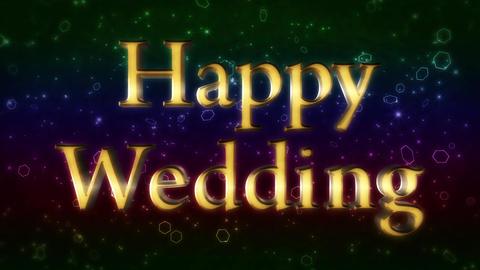 Happywedding CG動画素材