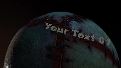 Bloody Gore Ball - Gory, Exploding Sack of Flesh Intro After Effects Template