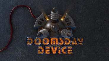 Doomsday Device - Futuristic Gadget Screens Intro After Effects Template
