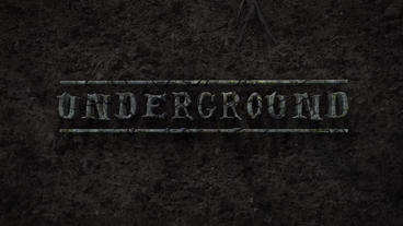Underground - Creepy Subterranean Logo Reveal After Effects Template