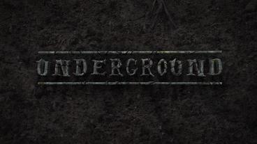 Underground - Creepy Subterranean Logo Reveal Plantilla de After Effects
