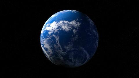 Earth CG動画素材