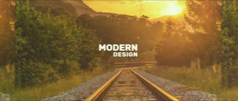 Modern Dynamic Intro After Effectsテンプレート
