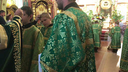 The Sacrament of Chrismation of Priests in the Orthodox Church Footage