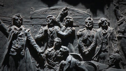 Detail Of Monument In Argentina, Assembly Of The Year 13