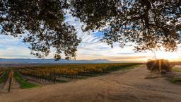 4K timelapse of Salinas Valley Footage