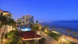 4K timelapse of Hotel del Coronado Footage
