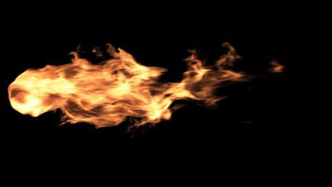 Fireball Element Footage