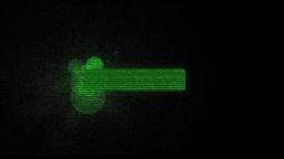 Hologram Lower Third 4 Animation