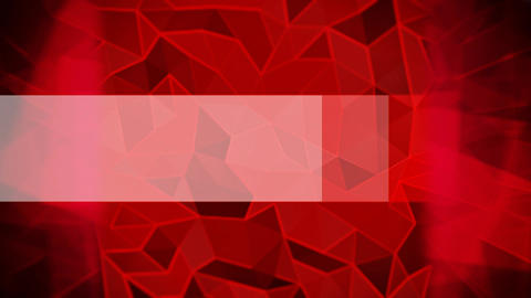 Abstract triangles animated red background Animation