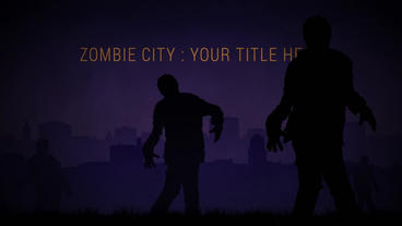 Zombie City After Effects Project