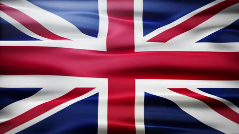 Great Britain Flag Animation