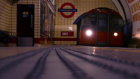 Underground Train in London
