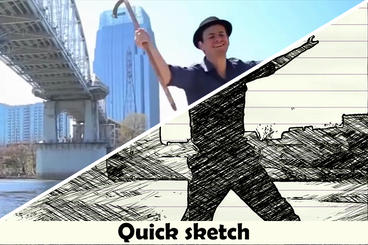 Quick sketch After Effects Template