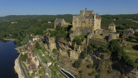 Beynac and Cazenac, seen by drone Live Action