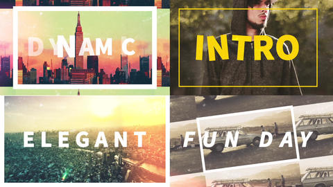 Energetic Slideshow (Dynamic,Fast,Intro) After Effects Template