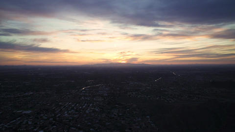 Sunset over Phoenix Time Lapse 画像