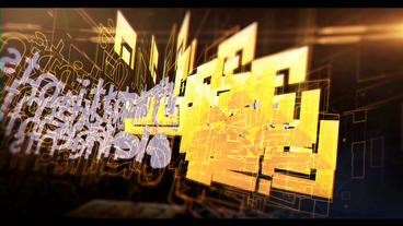 Glitch Neon Logo 4 After Effects Projekt