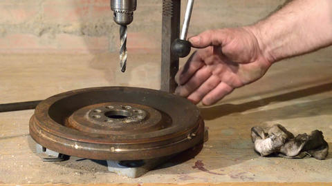 Using drill tool for drilling steel Footage