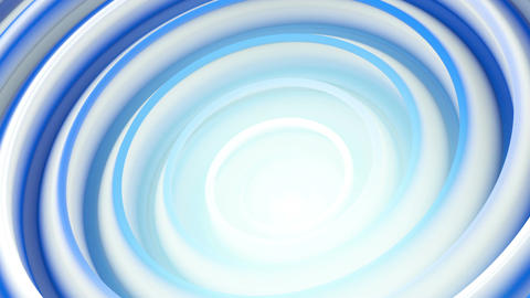 Spiral 3D shape endless spinning seamless loop animation Animation