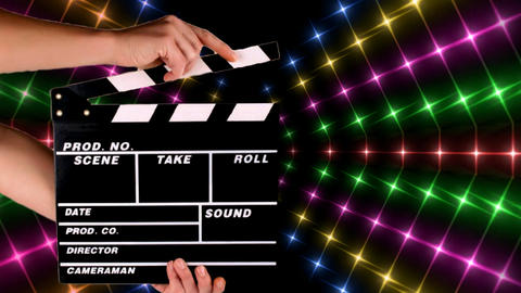 FILM CLAPBOARD Animation