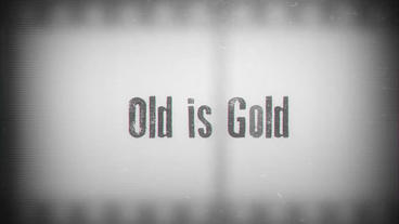 Old is Gold After Effects Template