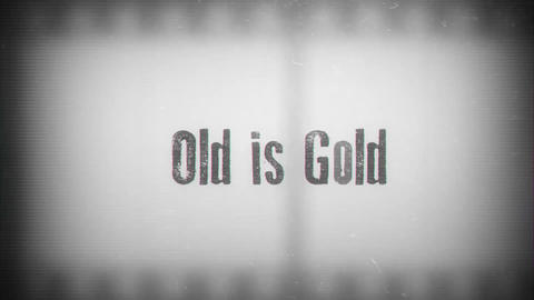 Old is Gold After Effectsテンプレート