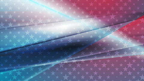 USA colors abstract bright video animation Animation