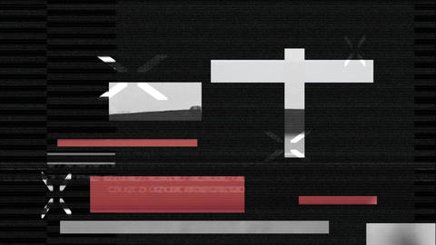 Digital Glitch After Effects Template