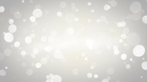 White blurred circles loopable background Animation
