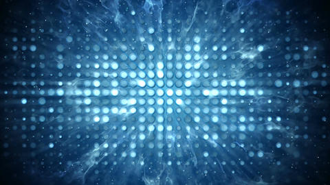 Stage lights and smoke disco party concept loopable background Animation
