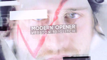 Modern Opener 10 After Effectsテンプレート