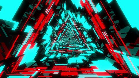 Neon Tunnel VJ Loop 4 Animation